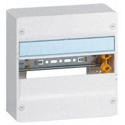 Coffret Drivia 13 modules - 1 rangée - IP30 - IK05 - Blanc RAL 9003