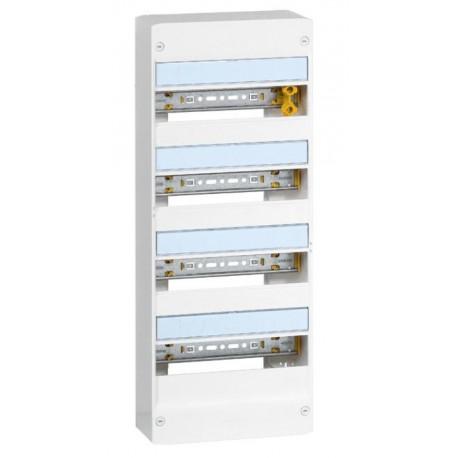Coffret Drivia 13 modules - 4rangées - IP30 - IK05 - Blanc RAL 9003