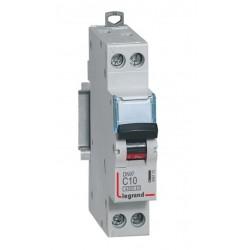 Disjoncteur DNX³ 4500 - vis/vis - U+N 230V~ 10A - 4,5kA - courbe C - 1 mod