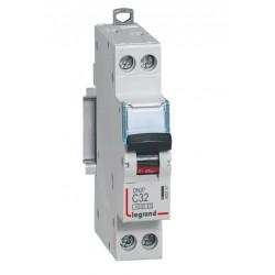 Disjoncteur DNX³ 4500 - vis/vis - U+N 230V~ 32A - 4,5kA - courbe C - 1 mod