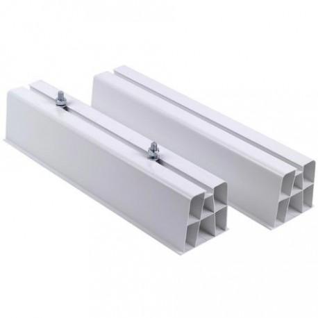 SUPPORT AU SOL PVC GROUPE EXTÉRIEUR 400MM