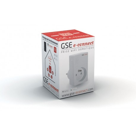 PRISE INTELLIGENTE GSE ECONNECT BOX 6 PRISES GSE INTEGRATION