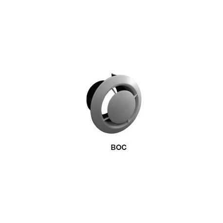 BOUCHE D'EXTRACTION PLASTIQUE SERIE BOC P Ø80MM