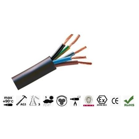 CABLE R2V CU 5G25